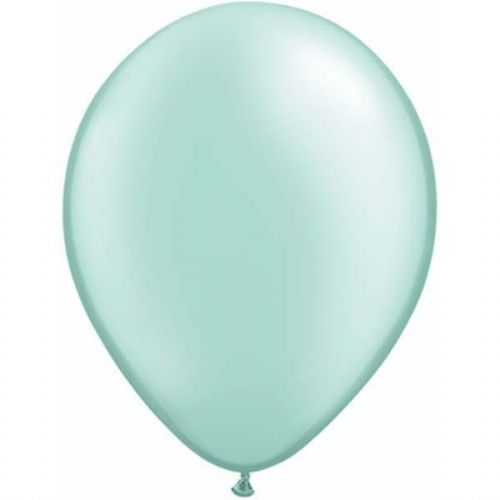 Mint Balloons - 11'' Pearl Latex (25pk)